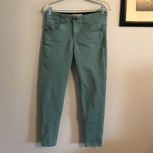 Democracy Teal Jeans with Ab Technology  size 6